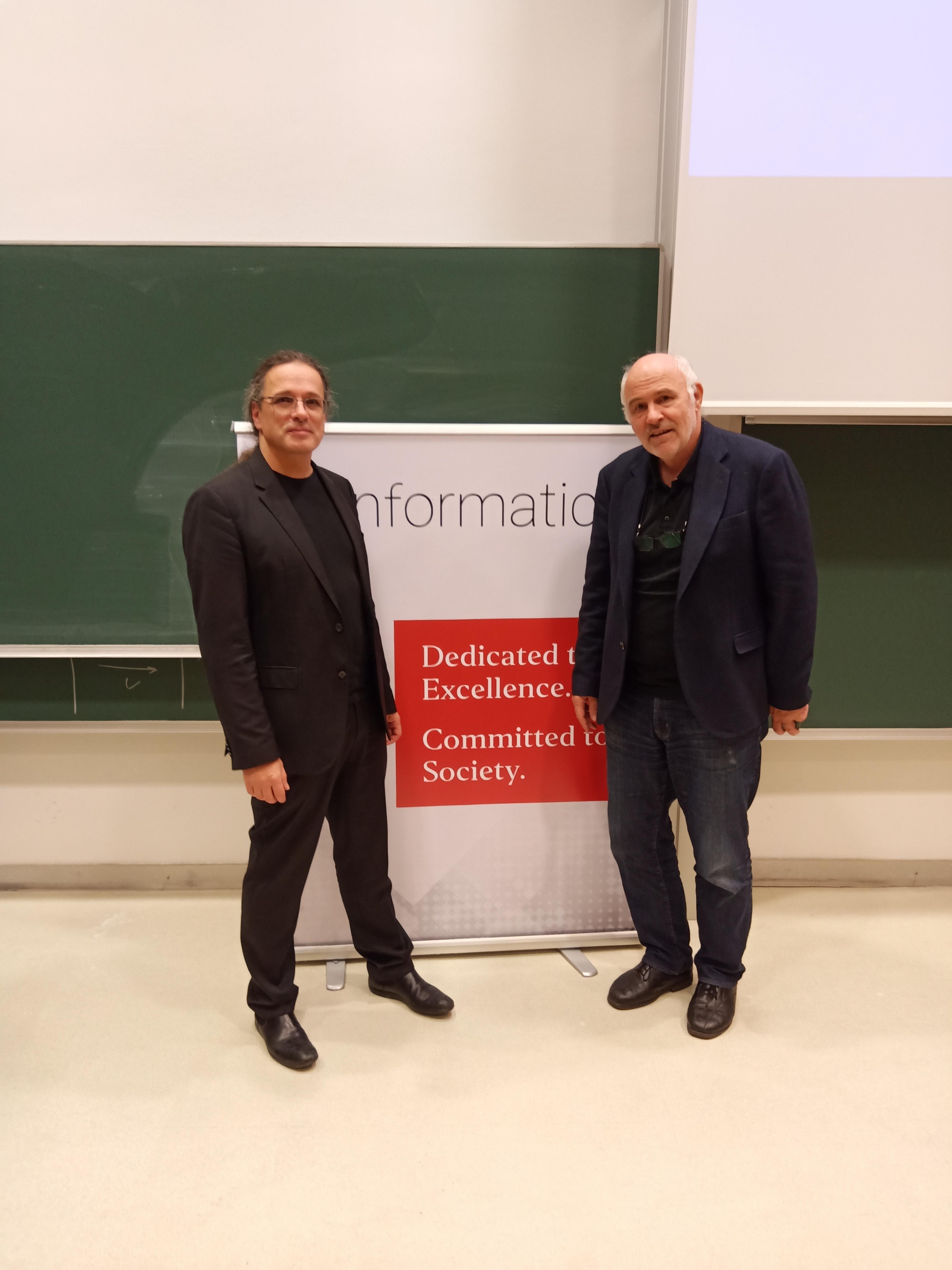Gerfried Stocker and Prof. Werthner